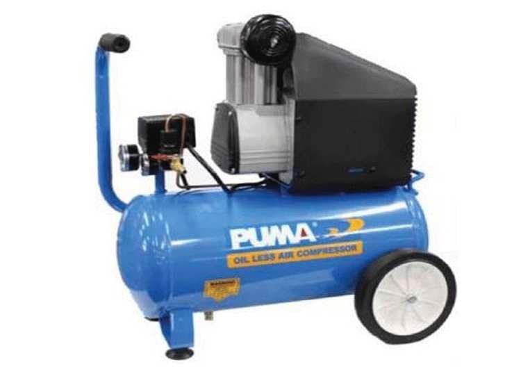 Máy nén khí không dầu 2HP Puma OLD2025 25L