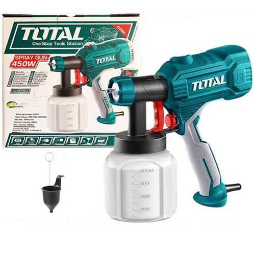 450W Súng phun sơn dùng điện Total TT3506