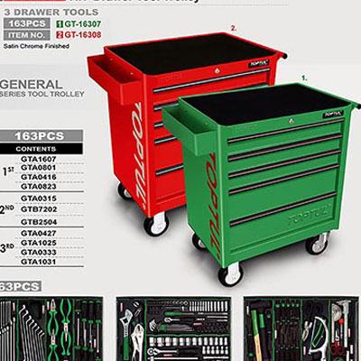 Tủ dụng cụ 5 ngăn màu đỏ Toptul GT-16308