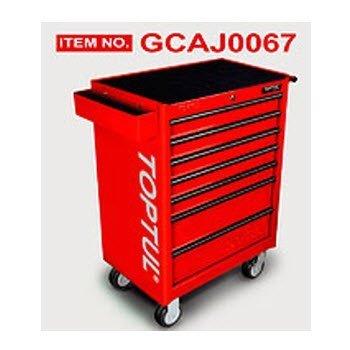 Bộ tủ dụng cụ 7 ngăn đỏ 211 chi tiết Toptul GCAJ0067