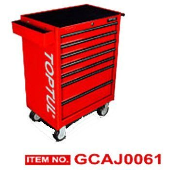 Bộ tủ dụng cụ 7 ngăn xanh 157 chi tiết Toptul GCAJ0061