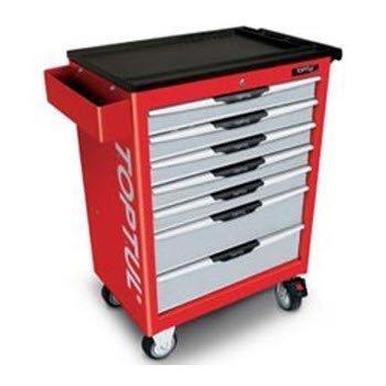 Bộ tủ dụng cụ 7 ngăn đỏ 261 chi tiết Toptul GV-26104