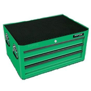 Bộ tủ 3 ngăn màu xanh bao gồm 70 chi tiết Toptul GW-07003