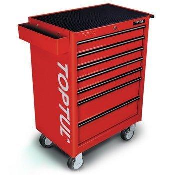 Bộ tủ dụng cụ 7 ngăn đỏ 180 chi tiết Toptul GV-18002