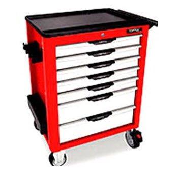 Bộ tủ 7 ngăn màu đỏ 279 chi tiết Toptul GV-27904