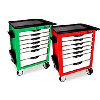 Bộ tủ dụng cụ 7 ngăn màu đỏ 157 chi tiết Toptul GCAJ0057