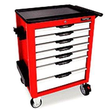 Bộ tủ dụng cụ 7ngăn màu đỏ 211 chi tiết Toptul GCAJ0063