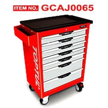 Bộ tủ dụng cụ 7ngăn đỏ 211 chi tiết Toptul GCAJ0065