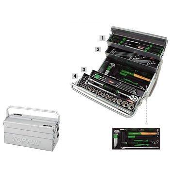 Tủ đựng dụng cụ 3 ngăn 65 chi tiết Toptul GCAZ0048