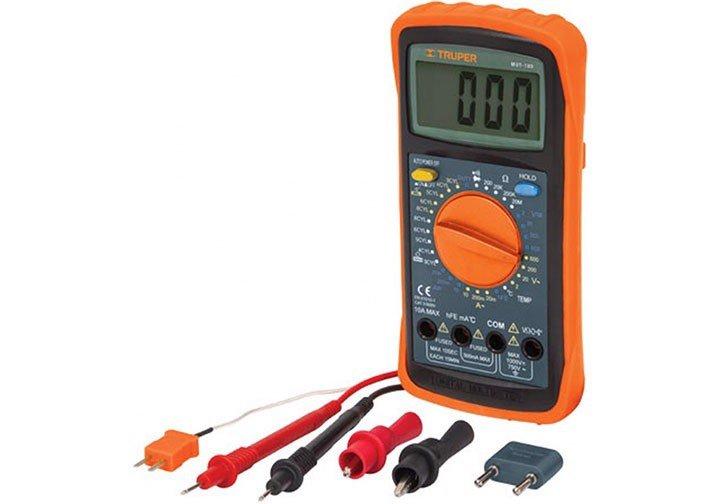 1000V Đồng hồ vạn năng đo dòng điện Truper 10403 (MUT105)