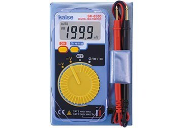 Đồng hồ vạn năng chỉ thị số Kaise SK-6500