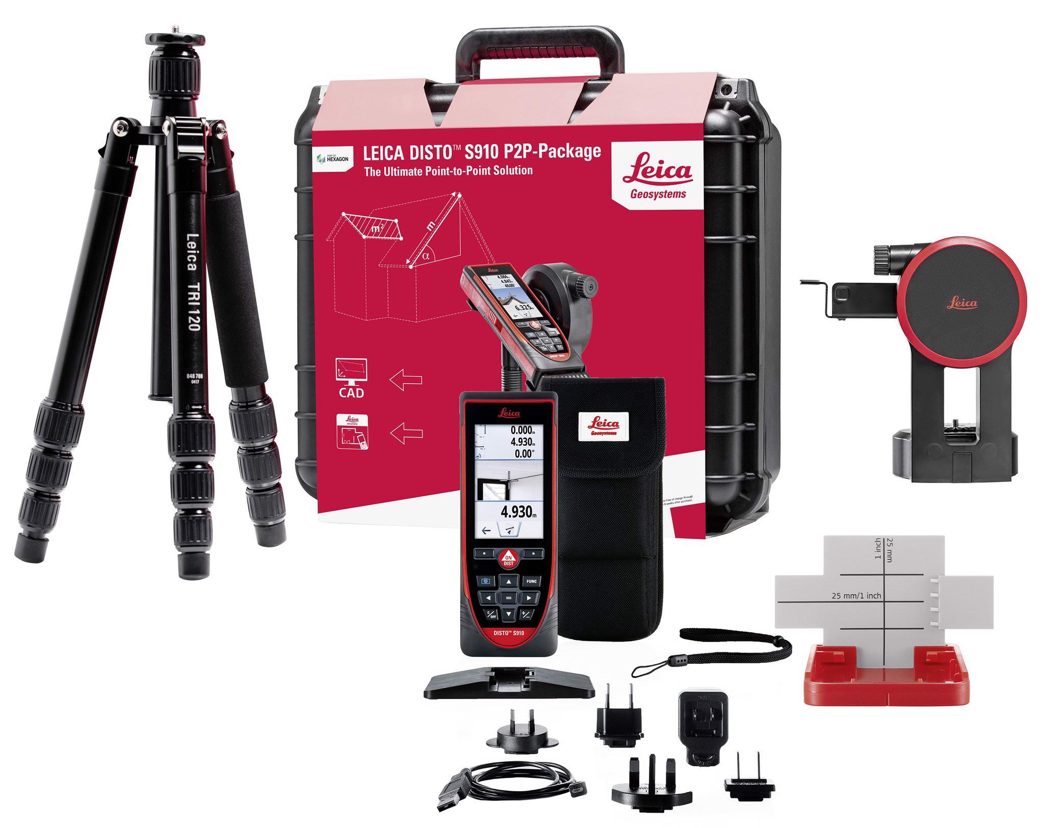 Bộ máy đo khoảng cách laser Leica DISTO S910 Package