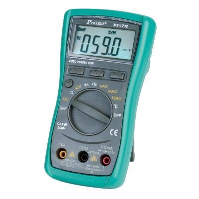 Đồng hồ đo điện tử Pro'skit MT-1232