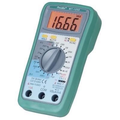 Đồng hồ đo điên tử Pro'skit MT-1250