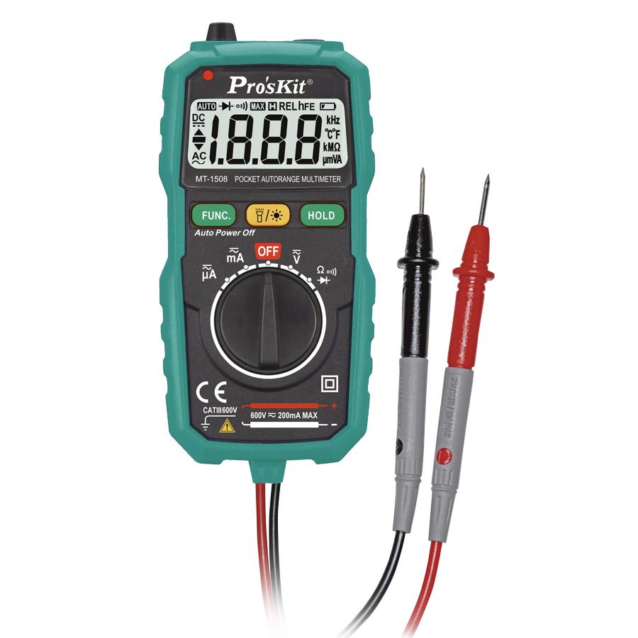 Đồng hồ đo điện tử Pro'skit MT-1508