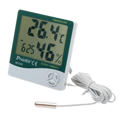 Đồng hồ đo nhiệt độ, độ ẩm có dây Pro'skit NT-312