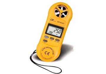 Máy đo tốc độ gió/nhiệt độ điện tử Lutron LM-81AT