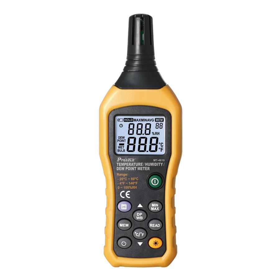 Thiết bị đo nhiệt độ, độ ẩm Pro'skit MT-4616