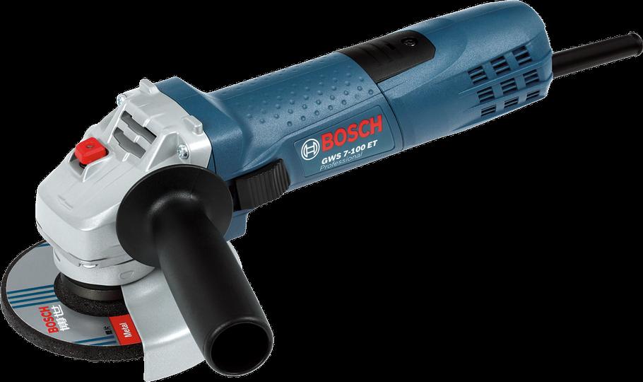 "4"" Máy mài 720W Bosch GWS 7-100ET"