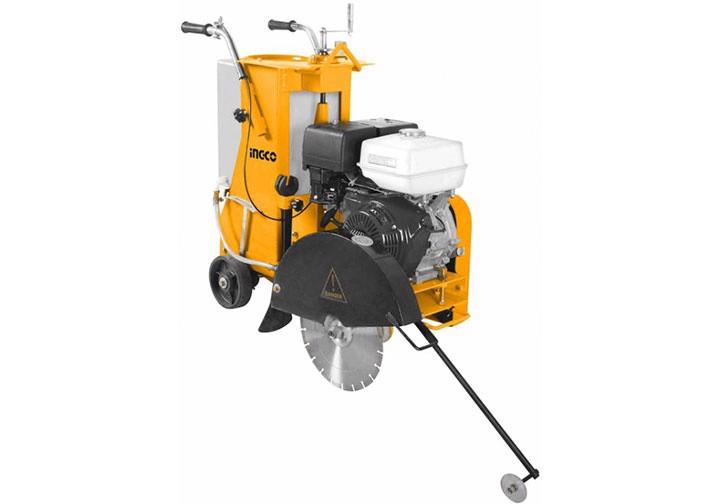 120KG Máy cắt bê tông nhựa đường dùng xăng 13HP INGCO GSF16-1