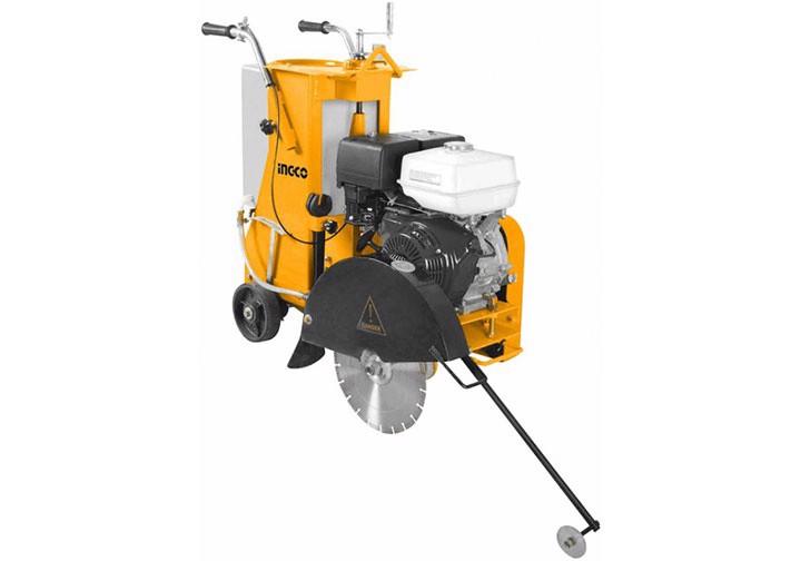 120KG Máy cắt bê tông nhựa đường dùng xăng 13HP INGCO GSF16-2