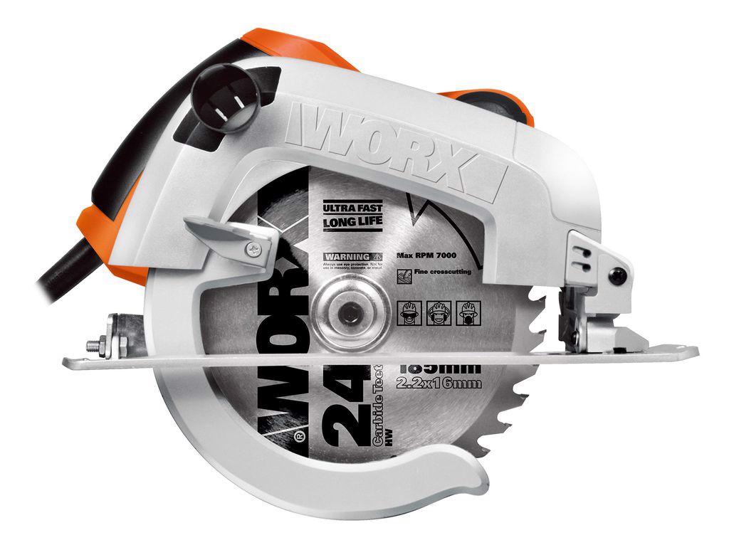 1600W Máy cưa đĩa 190mm Worx Orange WX445