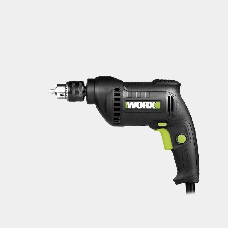 10mm Máy khoan 380W (Đầu vặn nhanh) Worx Green WU118.1
