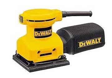 140mm x 140mm Máy chà nhám vuông Dewalt DW411