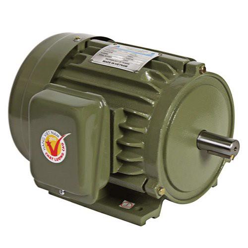 Motor vỏ gang chân đế Hồng Ký HKM114D