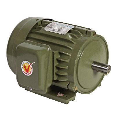 Motor vỏ gang JET chân đế Hồng Ký 1.1kW (1.5HP) 220V 1450RPM