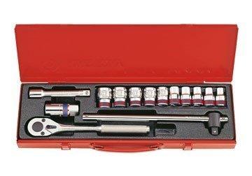 1/2″ bộ tuýp 14 chi tiết hệ inch Kingtony 4512SR