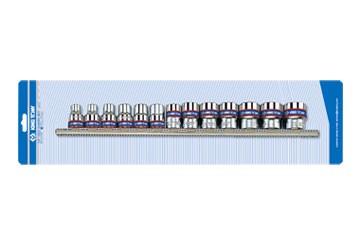 """3/8"""" bộ tuýp 13 chi tiết hệ mét Kingtony 3513MR"""