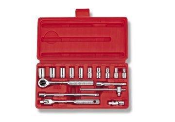 Bộ típ 1/4″ 17 cái hệ inch Crossman 99-081