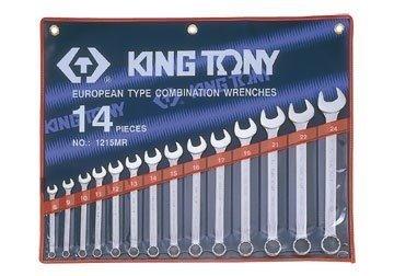 10-32mm Bộ cờ lê 14 chi tiết Kingtony 1214MR10