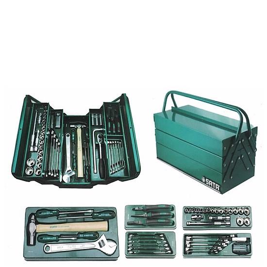 Bộ dụng cụ 70 chi tiết (hệ mét) Sata 95-104 (95104A-70-6)