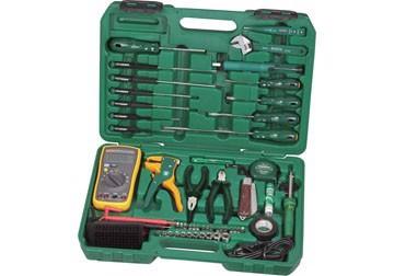 Bộ dụng cụ sửa điện 53 chi tiết Sata 09-535 (09535)