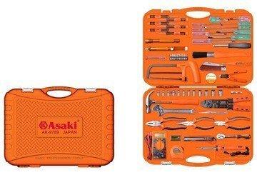 Bộ dụng cụ gia đình 65 chi tiết Asaki AK-9789