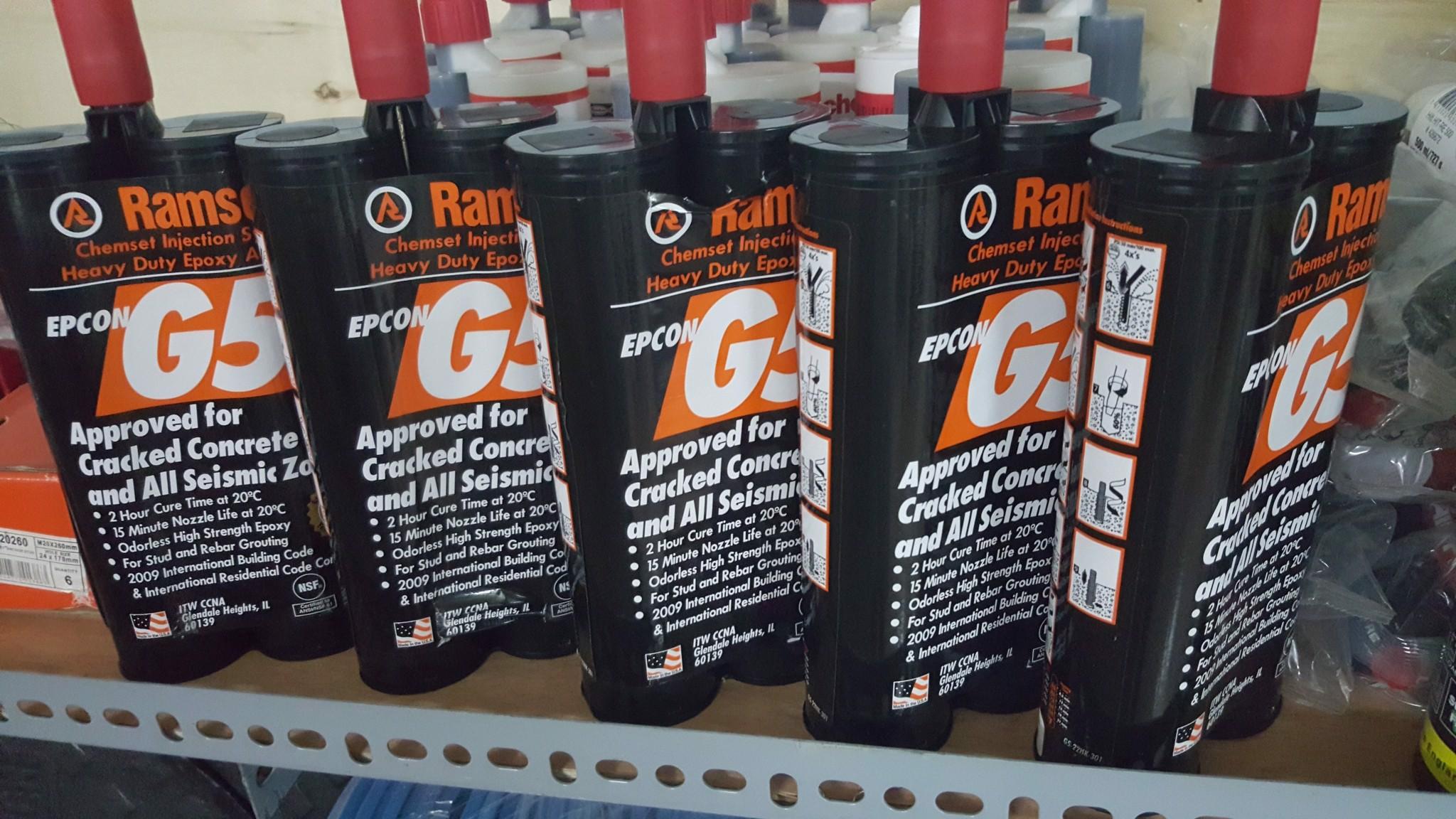 hóa chất cấy thép Epcon G5-650ML(RAMSET)