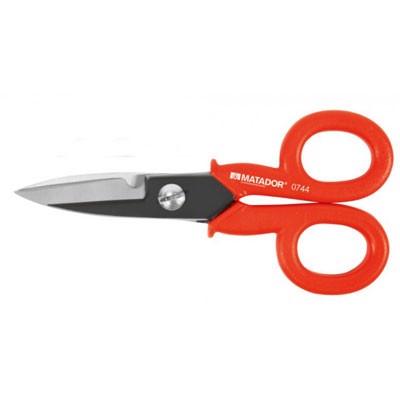 Kéo cắt dây điện thoại và cáp điện Matador 0744-0001