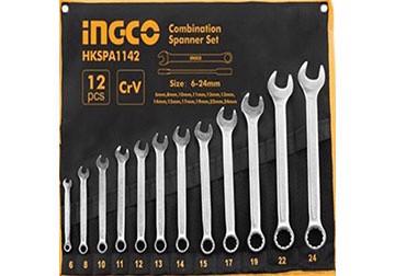6-24mm Bộ cờ lê vòng miệng 12 chi tiết INGCO HKSPA1142