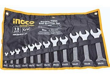 6-32mm Bộ cờ lê hai đầu miệng 12 chi tiết INGCO HKSPA2142