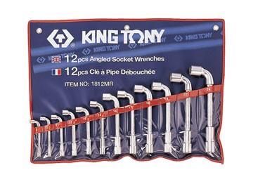 8-24mm bộ ống điếu 12 cái hệ mét Kingtony 1812MR