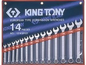 8-24mm bộ vòng miệng 14 cái hệ mét Kingtony 1215MR01