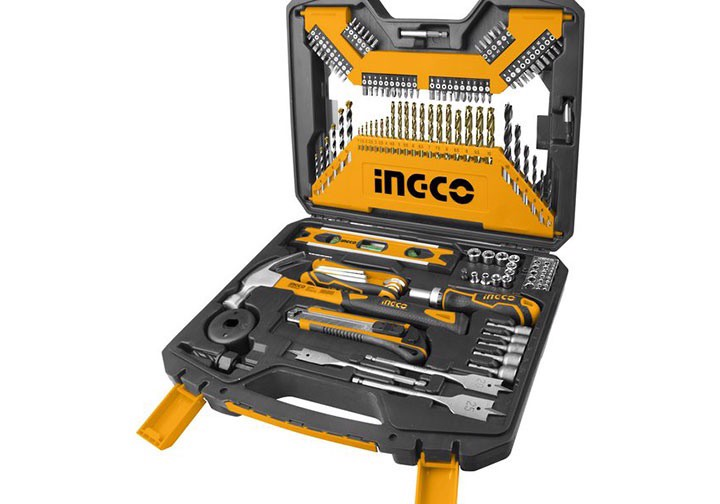 Bộ 120 món đồ nghề cầm tay INGCO HKTAC011201