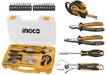 Bộ dụng cụ gia đình 25 chi tiết INGCO HKTH10258
