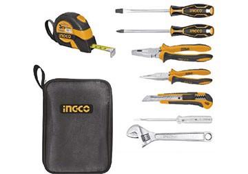 Bộ dụng cụ gia đình 8 chi tiết INGCO HKTH10808
