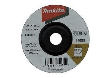 100 x 6 x 16mm Đá mài inox Makita A-80852
