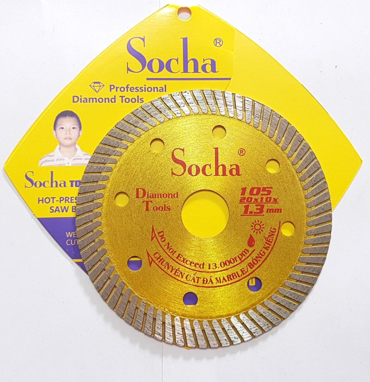 105 mm Lưỡi cắt gạch đa năng SOCHA Vỉ nhựa