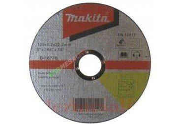 180 x 2.0 x 22.2mm Đá cắt sắt Makita D-18786