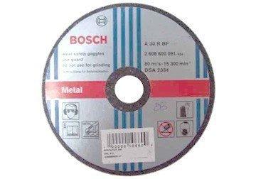 180 x 3 x 22.2mm Đá cắt sắt Bosch 2608600272
